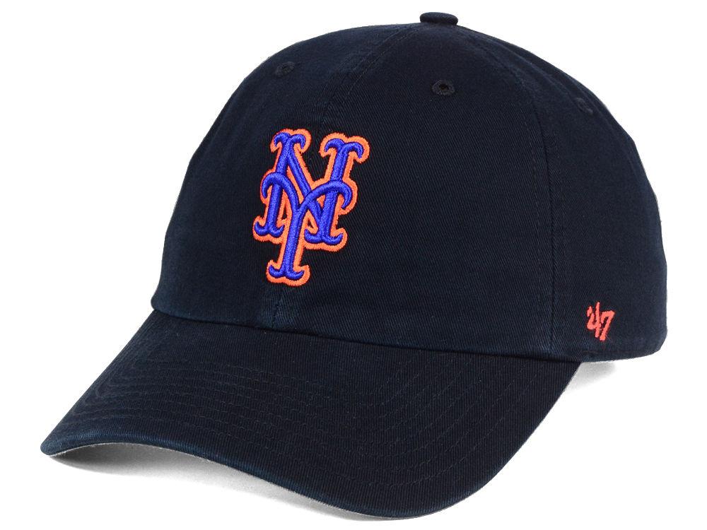 f0d016ec5b5 New York Mets  47 MLB Core  47 CLEAN UP Cap