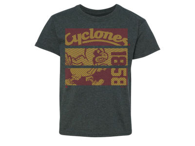 Iowa State Cyclones NCAA Youth Mascot Three Panels T-Shirt