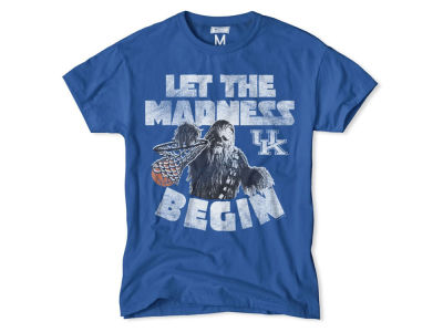Kentucky Wildcats NCAA Men's Chewbacca Dunking Madness T-Shirt