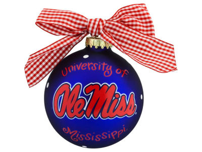 Ole Miss Rebels Logo Ornament
