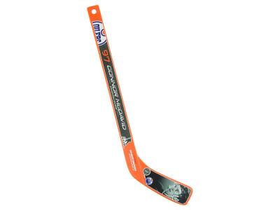 Edmonton Oilers Connor McDavid Team Player Plastic Stick