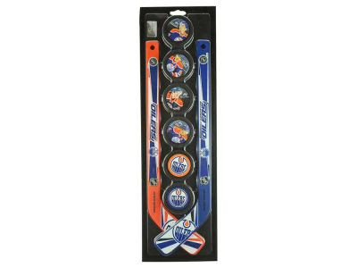 Edmonton Oilers Mini Stick Foam Puck Set