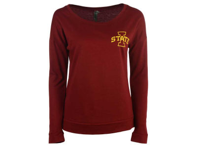 Iowa State Cyclones NCAA Women's Mascot Fill Sweeper Scoop Fleece Sweatshirt