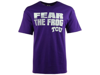 Texas Christian Horned Frogs NCAA 2 for $25  NCAA Men's Slogan Stack T-Shirt
