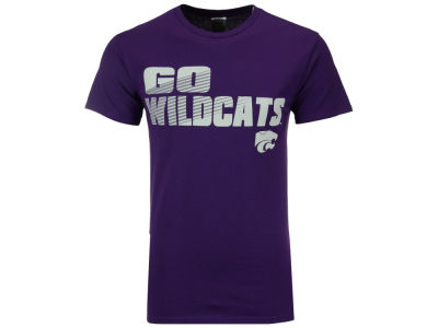 Kansas State Wildcats NCAA 2 for $28 J America NCAA Men's Slogan Stack T-Shirt