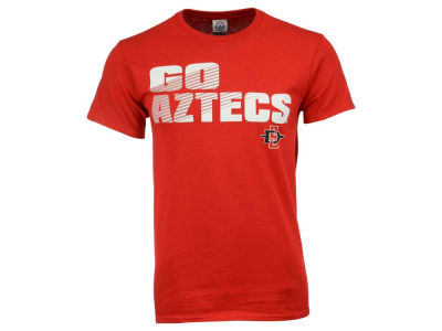 San Diego State Aztecs NCAA 2 for $28 NCAA Men's Slogan Stack T-Shirt