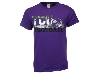 Texas Christian Horned Frogs NCAA 2 for $25  NCAA Men's Football Stack T-Shirt