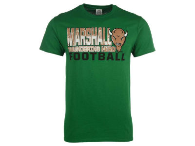 Marshall Thundering Herd NCAA 2 for $28 NCAA Men's Football Stack T-Shirt
