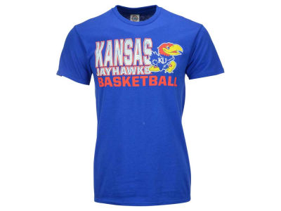 Kansas Jayhawks 2 for $28 NCAA Men's Basketball Stack T-Shirt
