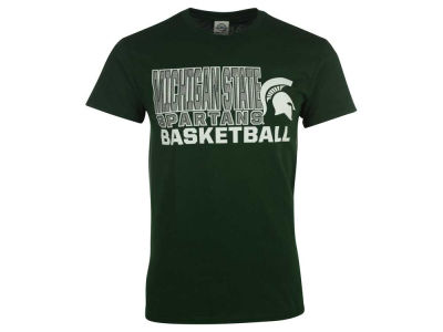 Michigan State Spartans 2 for $28 NCAA Men's Basketball Stack T-Shirt