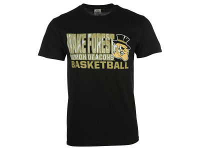 Wake Forest Demon Deacons NCAA 2 for $28 NCAA Men's Basketball Stack T-Shirt