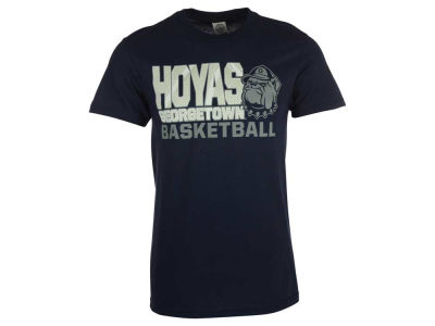 Georgetown Hoyas NCAA 2 for $28 NCAA Men's Basketball Stack T-Shirt
