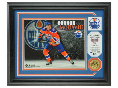 Edmonton Oilers Connor McDavid Photo Mint Coin-Bronze