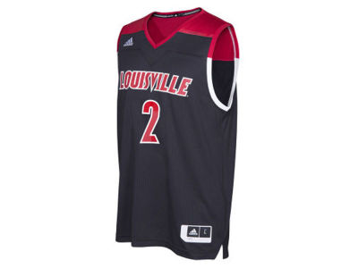 Louisville Cardinals adidas NCAA Youth 2016 March Madness Replica Home Jersey