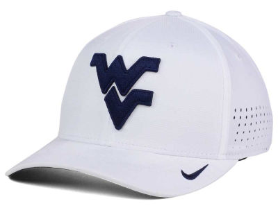 West Virginia Mountaineers Nike NCAA Vapor Sideline Swoosh Flex Cap