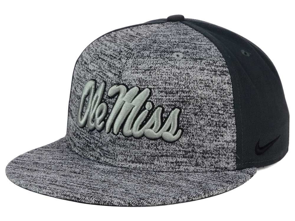 the best attitude 3666c 0c8cc ... clearance ole miss rebels nike ncaa col flyknit true cap lids a5428  25120