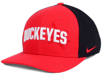 lowest price b6ec1 25e8f ... new zealand ohio state buckeyes nike ncaa classic 99 swoosh flex cap  7cbf1 5e8a5