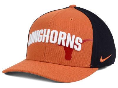 finest selection 58ed3 e1adf Texas Longhorns Nike NCAA Classic 99 Swoosh Flex Cap