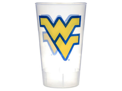 West Virginia Mountaineers Single Plastic Tumbler