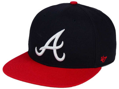 Atlanta Braves '47 MLB Sure Shot '47 Snapback Cap