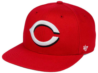 99c4cc9898c Cincinnati Reds  47 MLB Sure Shot  47 Snapback Cap