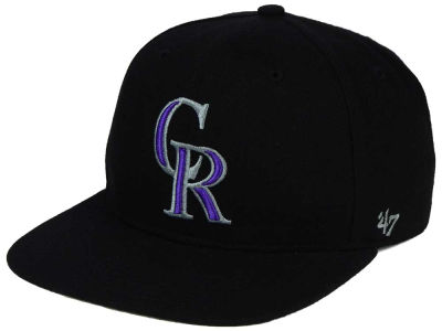 Colorado Rockies '47 MLB Sure Shot '47 Snapback Cap