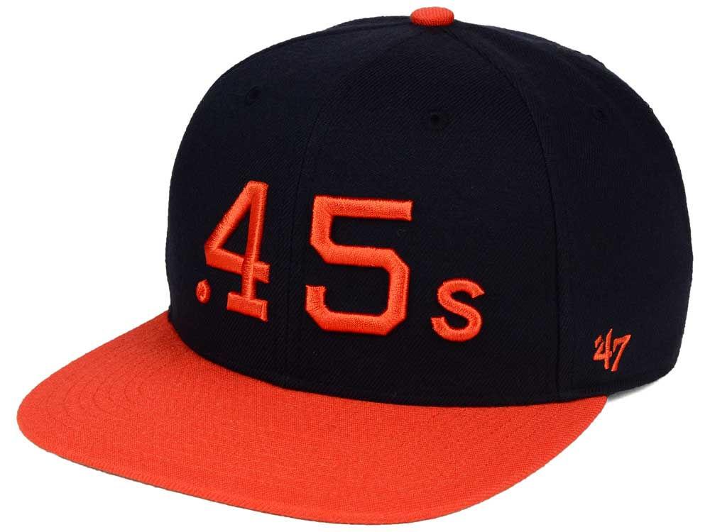Houston Colt 45s  47 MLB Sure Shot  47 Snapback Cap  1955ae471518