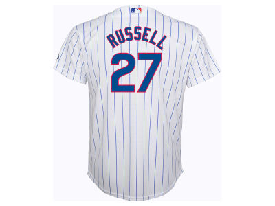 Chicago Cubs Addison Russell MLB Youth Player Replica Cool Base Jersey