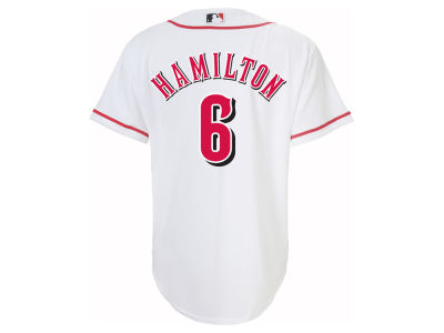 Cincinnati Reds Billy Hamilton Majestic MLB Youth Player Replica Cool Base Jersey