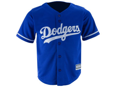 Los Angeles Dodgers MLB Toddler Blank Replica CB Jersey