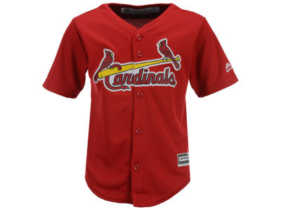 St. Louis Cardinals Majestic MLB Toddler Blank Replica Cool Base Jersey