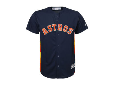 Houston Astros Majestic MLB Toddler Blank Replica CB Jersey