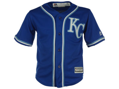 Kansas City Royals MLB Toddler Blank Replica Cool Base Jersey