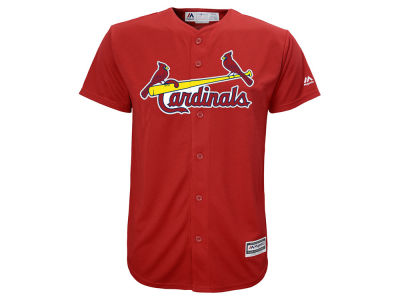 St. Louis Cardinals Majestic MLB Kids Blank Replica Cool Base Jersey