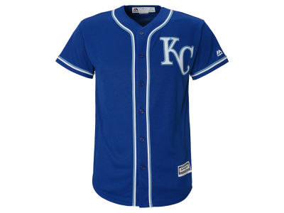 Kansas City Royals Majestic MLB Kids Blank Replica Cool Base Jersey