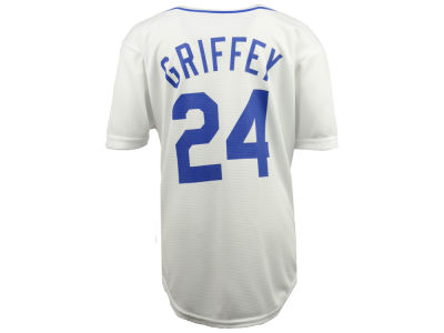 Seattle Mariners Ken Griffey Jr. Majestic MLB Youth Cooperstown Player Jersey