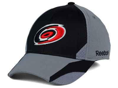 Carolina Hurricanes Reebok NHL Corner Net Flex Cap