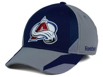 Colorado Avalanche Reebok NHL Corner Net Flex Cap