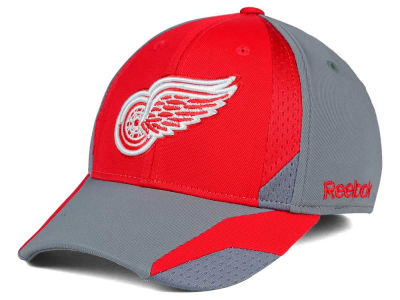 Detroit Red Wings Reebok NHL Corner Net Flex Cap
