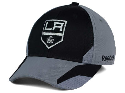 Los Angeles Kings Reebok NHL Corner Net Flex Cap
