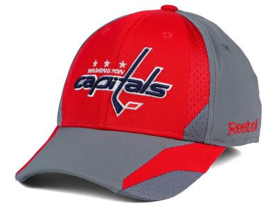 Washington Capitals Reebok NHL Corner Net Flex Cap