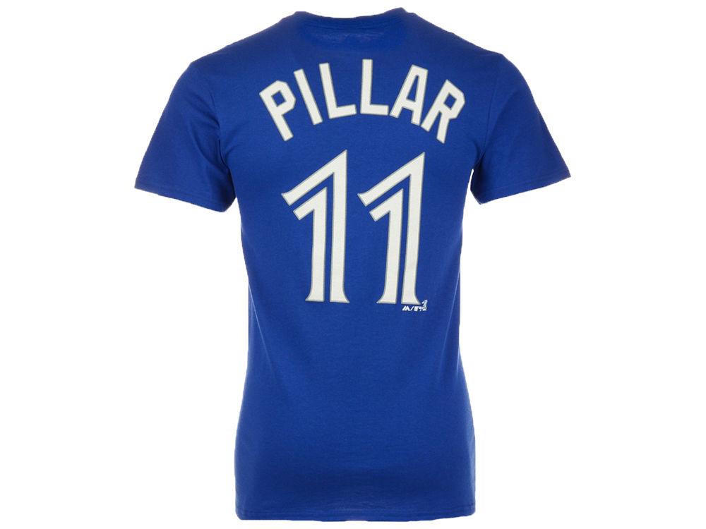 Toronto Blue Jays Kevin Pillar Majestic MLB Men s Official Player T-Shirt bd7c9b212