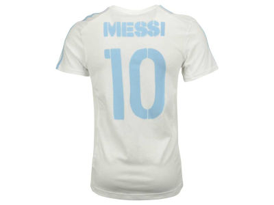 Argentina Lionel Messi adidas MLS Men's National Team 3 Stripe Player T-Shirt