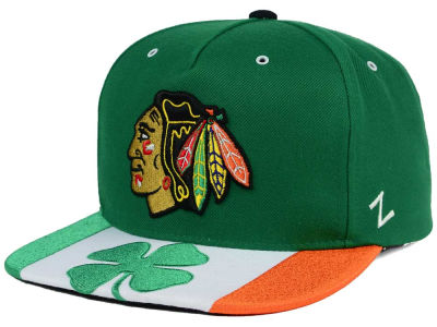 Chicago Blackhawks Zephyr NHL Clover Snapback Hat