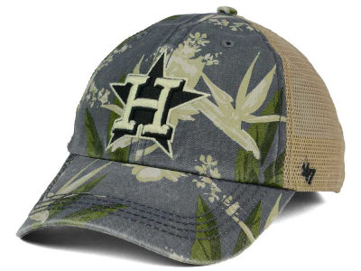 Houston Astros '47 MLB Biscayne '47 CLEAN UP Cap