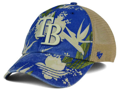Tampa Bay Rays '47 MLB Biscayne '47 CLEAN UP Cap