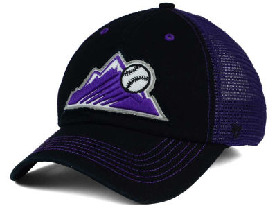 Colorado Rockies '47 MLB Taylor '47 CLOSER Cap