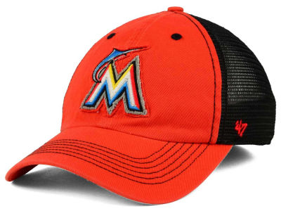 Miami Marlins '47 MLB Taylor '47 CLOSER Cap