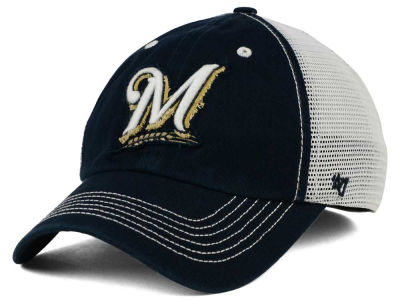 Milwaukee Brewers '47 MLB Taylor '47 CLOSER Cap