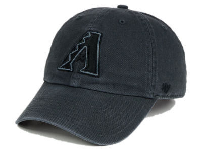 Arizona Diamondbacks '47 MLB Charcoal Black '47 CLEAN UP Cap